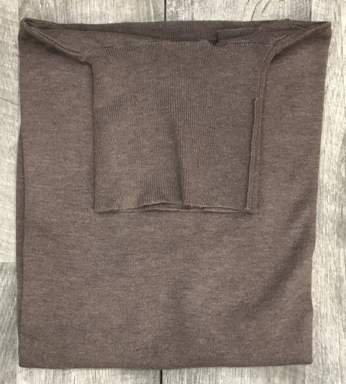 Turtle Neck Sweaters by Cigar Couture.Taupe
