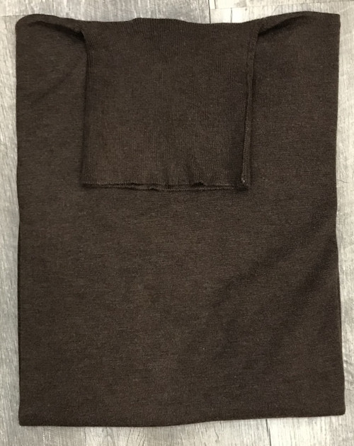 Turtle Neck Sweaters by Cigar Couture.Brown