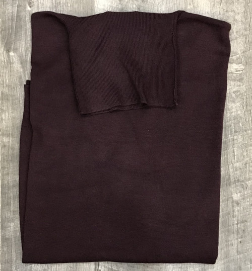 Turtle Neck Sweaters by Cigar Couture.Burgundy