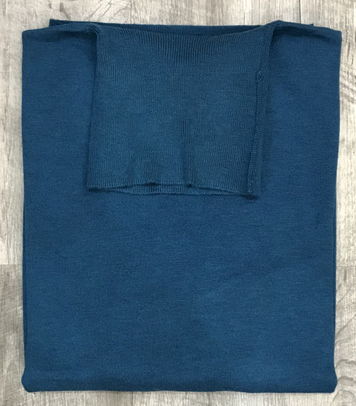 Turtle Neck Sweaters by Cigar Couture.Teal
