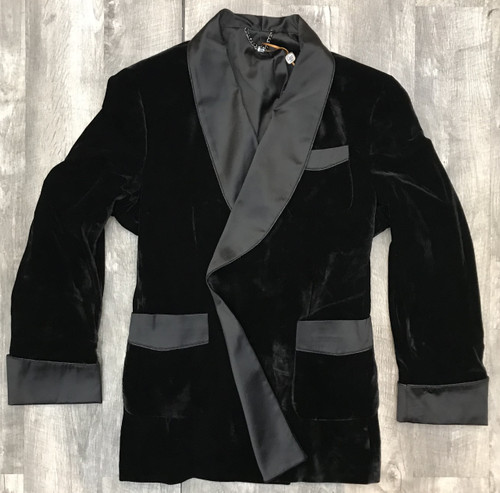 Gentlemen's Smoking Jacket  by Cigar Couture.