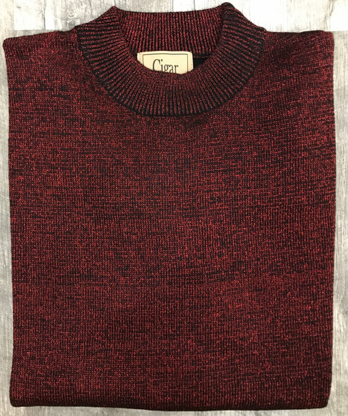 Mock Neck Sweaters by Cigar Couture.