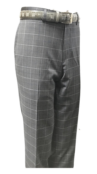 Gianni Manzoni Pants Tailored From Luxe Wool Fabric.