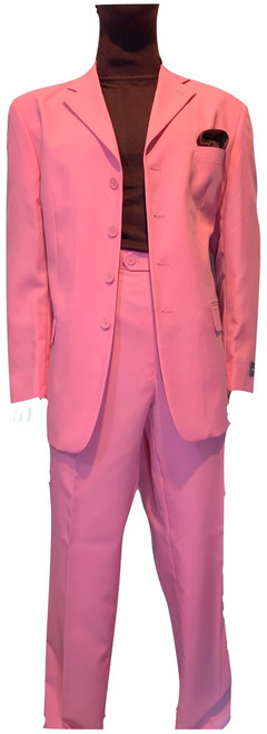 New Sale For Spring! Our exclusive ZOOT SUITS featuring brands like STACY ADAMS GOLD LABEL, FALCONE, VINCI among others will be the rage anywhere. Made of super-fine blended fabric in a true linen weave, in an all year ‰Ûªround weight, making this suit one of the best draping suits available today. The slightly longer silhouette of the stylish seven button single-breasted jacket, and the full fit of the pleated dress slacks make this duo a timeless and fashion forward outfit. The jacket is fully lined with gentleman‰Ûªs size inside pockets for elegance. The slacks are fully dress pant constructed with four generous pockets, a split waistband for easy altering and added comfort.This fabulous suit, the jacket and pant, is exclusively available from Fashion By GQ.Suit Pieces Can Be Worn Together Formally Or Separately Mixed And Matched With More Casual Items.Single Breasted, 4 Button, Notch Lapel Jacket.Full Pleated, Expandable Waist Pants.Available In Purple, Red Apple, Light Brown, Light Blue, Lavender, Navy, Pink, Lime Green, Orange, Yellow & Pastel Colors.
