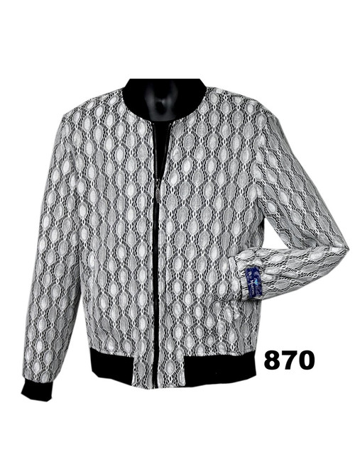 The fancy style on this bomber jacket from Blu Martini adds a bold pop of style to any special occasion, finished off with two slant pockets at the sides.LightweightFront zip closurePolyesterDry cleanImported