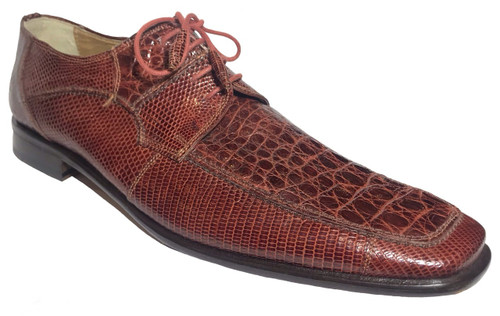 """""""Kerr"""" by David Eden, a genuine Crocodile with genuine Lizard. Prices are exclusive to online sales."""