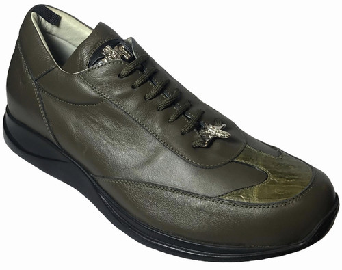 """8932"" by Mauri, genuine Alligator belly with Lambskin Leather . Prices are exclusive to online sales."