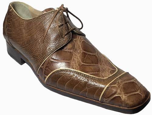 """2001"" by Mauri, genuine Crocodile and genuine Lizard . Prices are exclusive to online sales."