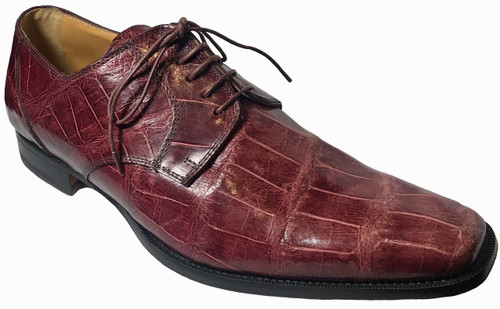 """""""010"""" by Mauri, genuine Alligator belly . Prices are exclusive to online sales."""