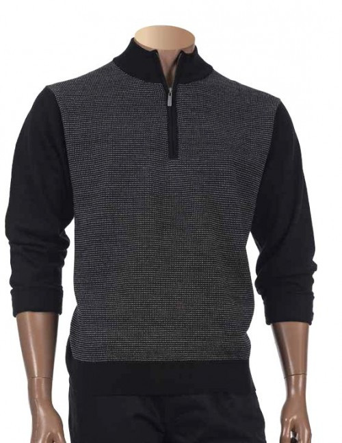 Halfl Zip Sweater By Inserch.