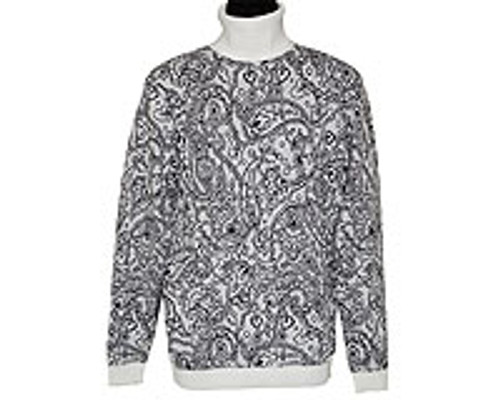 LaVan̩ Sweater. This sweater sports a nice pattern. Prices are exclusive to online sales only.