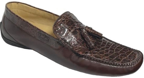 Soft Bottom Croc Loafer.