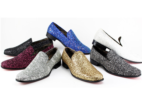 This shoe comes in White, Cream, Light Blue, Light Pink, Burgundy, Lilac, Black, Black/Silver, Gold, Silver, Royal & Yellow. To dress up or even down, this shoe is meant to complete your outfit without saying too much. Prices are exclusive to online sales.