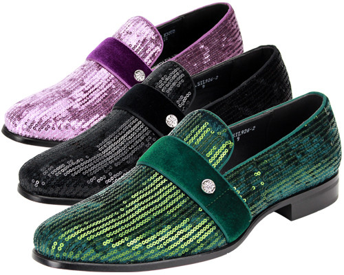 This shoe comes in BLACK, & GREEN. To dress up or even down, this shoe is meant to complete your outfit without saying too much. Prices are exclusive to online sales.
