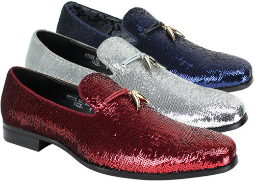 This shoe comes in ROSE PEARL, PEACOCK PEARL, BLACK, GOLD, CHERRY, ROYAL, SILVER, RED, WHITE, PEWTER. To dress up or even down, this shoe is meant to complete your outfit without saying too much. Prices are exclusive to online sales.