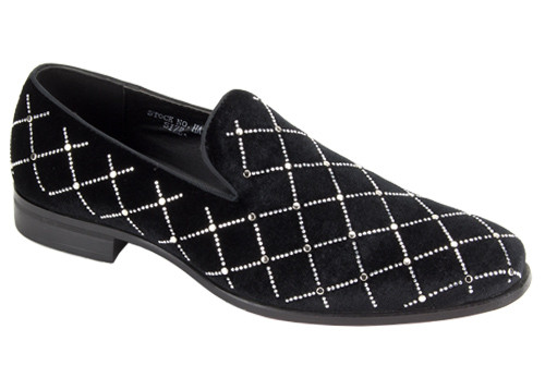 This shoe comes in BLACK/GOLD, BLACK/SILVER. To dress up or even down, this shoe is meant to complete your outfit without saying too much. Prices are exclusive to online sales.
