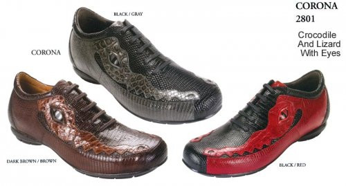 "These exceptional quality available in DARK BROWN crocodile skin sneakers are handmade by one of the finest exotic sneakers manufacturers, Belvedere. Belvedere offers sensational exotic skin sneakers that are completely hand crafted and hand stitched. The inside is a butter soft lambskin leather for superior comfort and the sole is handstitched in leather for excellent traction. The insole is cushioned for added shock absorption. These sneakers will fit a Medium width up to a ""D"" width due to the soft lambskin interior leather.