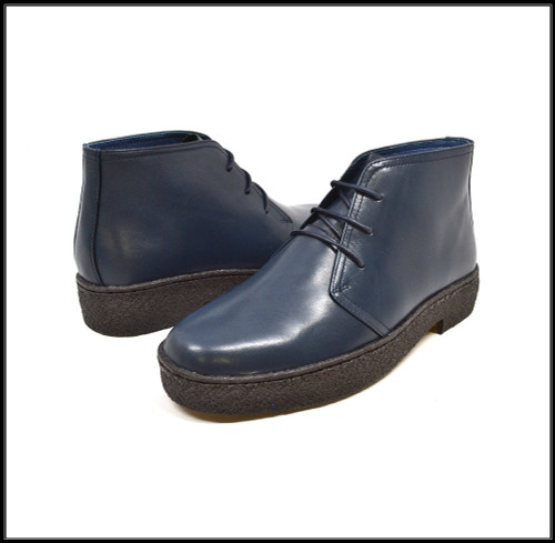 This lace-up Navy Limited Edition by The British Collection is an original, one of kind shoe. When it comes to style and comfort this shoe has all the right moves for your everyday style.