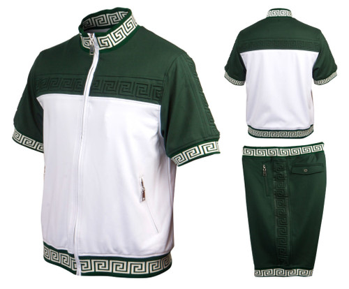 GQ offers a Luxury Two Piece Jogging set in a variety of colors and styles by Prestige.This show stopping get up will make you the main attraction as you walk through the doors.Prices are exclusive to online sales.