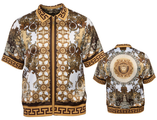 GQ offers a Luxury Summer Shirt in a variety of colors and styles by Prestige.This show stopping get up will make you the main attraction as you walk through the doors.Prices are exclusive to online sales.