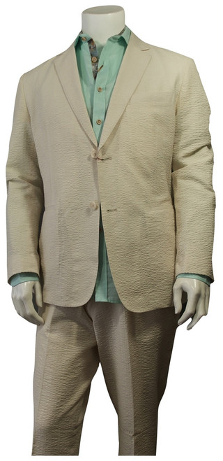 Cigar Couture Suit Spring/Summer  Dress up or dress down in this breathable suit for your spring or summer events !  Lightweight.  Pink, Cream, Mustard, Sage.