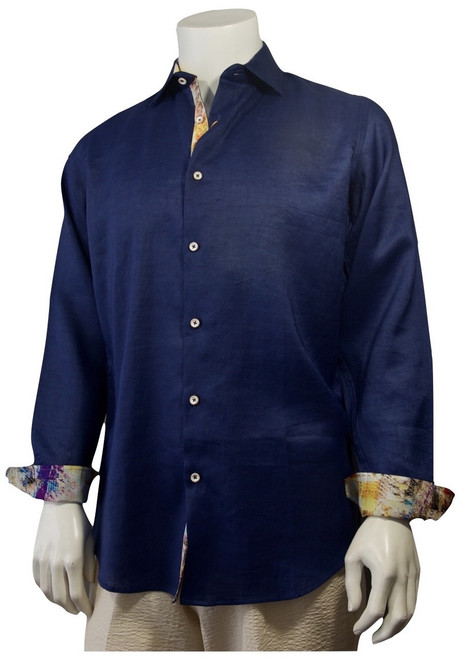 Cigar Couture shirts have all the style you need for your wardrobe.  Linen.
