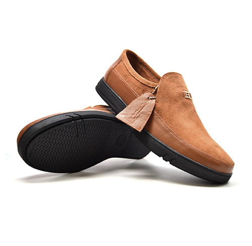 """This British Collection Slip-On Cantebury, is the quintessential 80's retro style shoe. """"A Classic Shoe for a classy wear."""" Fitted with TPR Sole for superb comfort and great aesthetic versatility. Rock these classic Bristol and dress to impress those around you.   Vintage lace-up Hand Crafted with Leather and Suede Dual fit technology for extra width TPR Sole"""