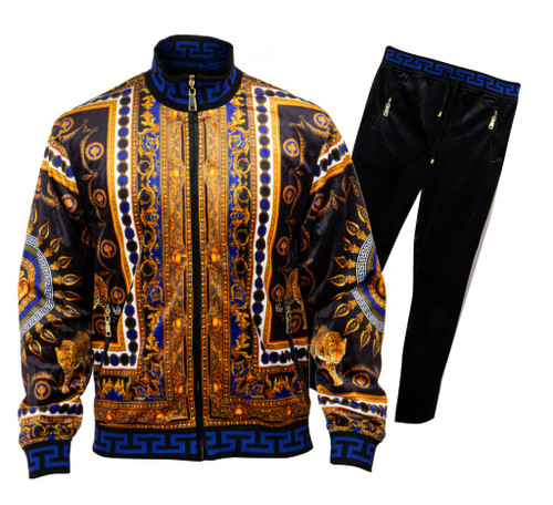 GQ offers a Luxury Two Piece Jogging suit in a variety of colors and styles by Prestige.  This show stopping get up will make you the main attraction as you walk through the doors.  Prices are exclusive to online sales.