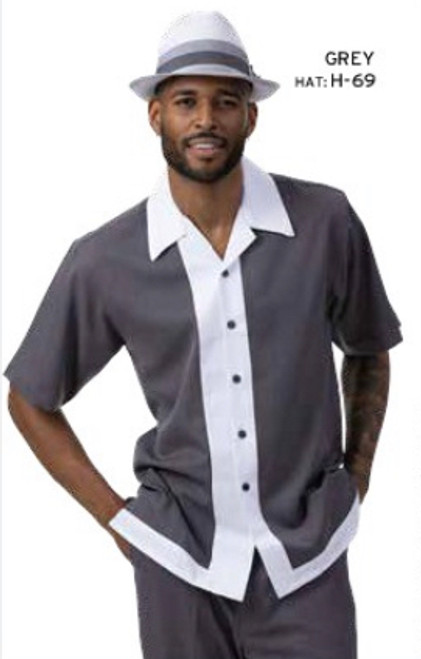 Montique's leisure suits are perfect for the man who prefers to be well dressed at every occasion. Montique is well known for their comfort and this suit is no different. It is made of very comfortable fabric that doesn't restrict movement. Prices are exclusive to online sales.