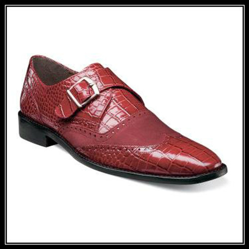 Dapper and distinguished, the Stacy Adams Arrico is a game-changer. With its wingtip design and snazzy crocodile print leather upper, this modern monk can be worn day in and day out. Price are exclusive to online sales. 