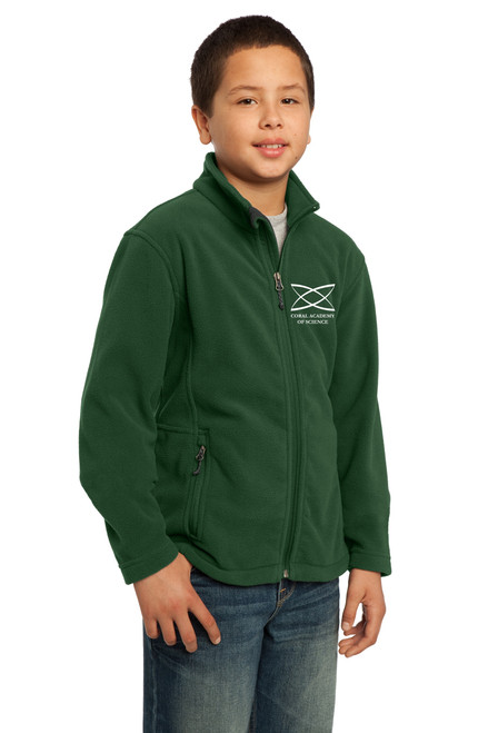 Middle School - Youth Jacket Green