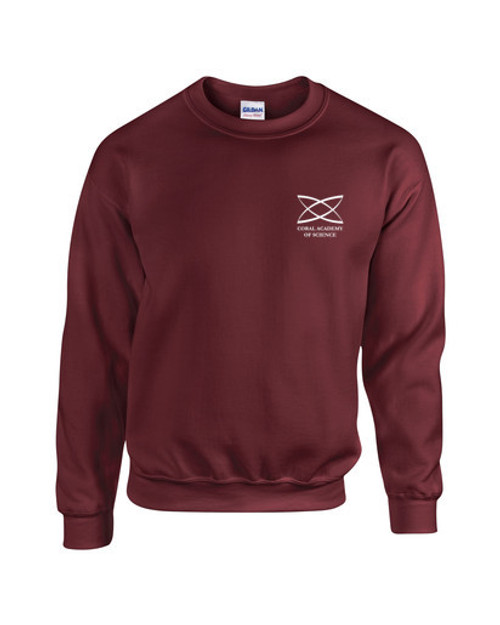 Elementary - Youth Crewneck Sweatshirt Burgundy