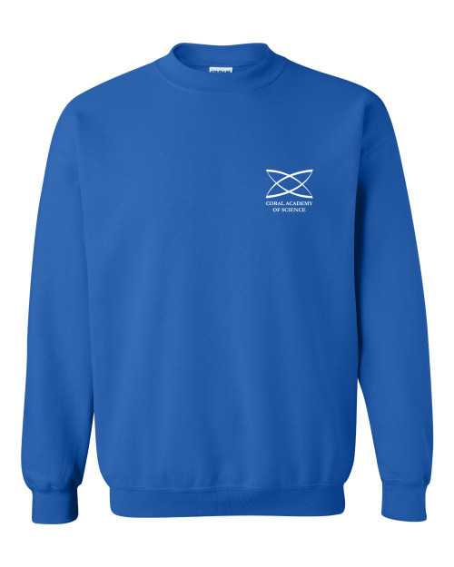 High School - Adult Crewneck Sweatshirt Royal Blue