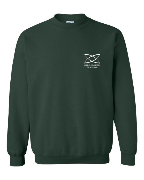 Middle School - Adult Crewneck Sweatshirt Green