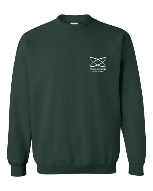 Middle School - Adult Crewneck Sweatshirt Green