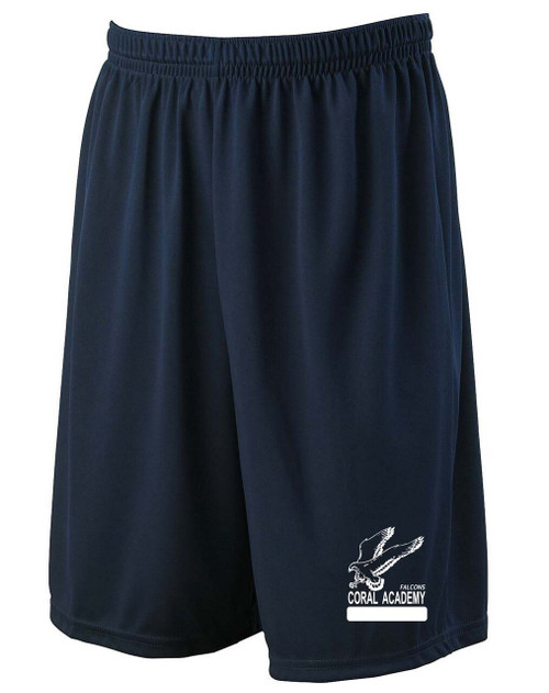 Youth Gym Short Navy