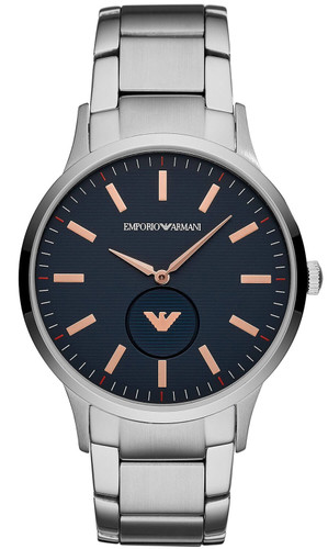 EMPORIO ARMANI 43MM Renato Quartz Blue Dial Men's Watch AR11137