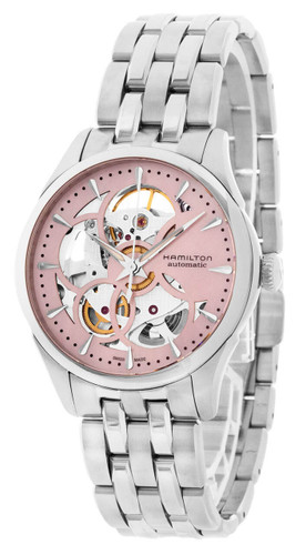 HAMILTON Jazzmaster Viewmatic Skeleton Dial Women's Watch H32405171