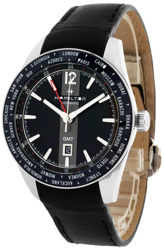 HAMILTON Broadway GMT 46MM Limited Edition Black Dial Men's Watch H43725731