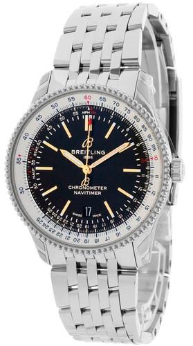 BREITLING Navitimer 1 Automatic 41mm Black Dial Men's Watch A17326211B1A1