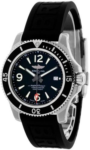BREITLING Superocean 44MM AUTO Black Dial Men's Watch A17367D71B1S2