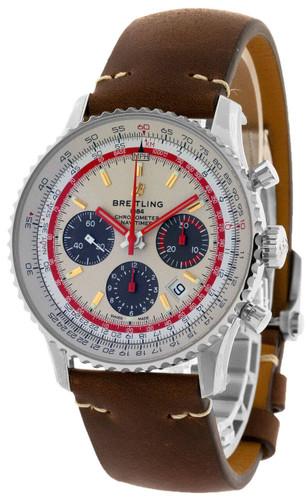 BREITLING Navitimer B01 CHRONO TWA ED 43MM Men's Watch AB01219A1G1X2