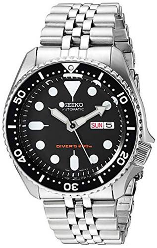 SEIKO Divers 42MM Automatic SS Black Dial Men's Watch SKX007K2