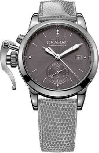 GRAHAM Chronofighter Romantic 42MM Grey Dial Unisex Watch 2CXMS.A01A