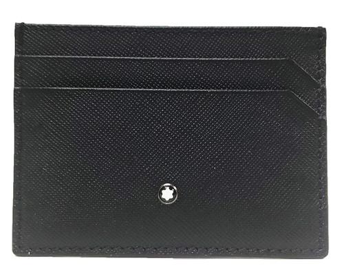 MONTBLANC Sartorial 5 CC Black Leather Pocket Holder 114603