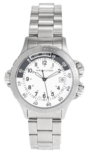 HAMILTON Khaki Navy White Dial 40MM Quartz Men's Watch H74551113