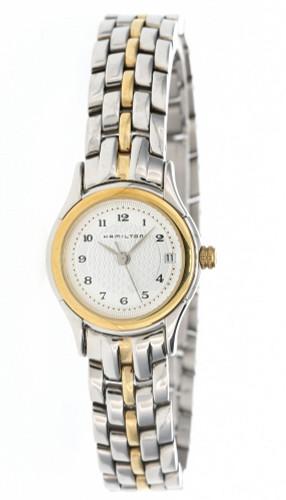 HAMILTON Linwood 23MM Quartz Silver Dial Women's Watch H18221253