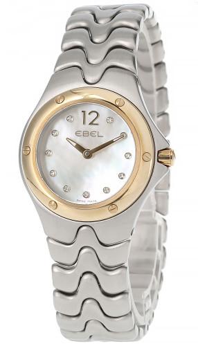 EBEL Sportwave 28MM Quartz Diamond MOP Women's Watch E1956K21-1215128