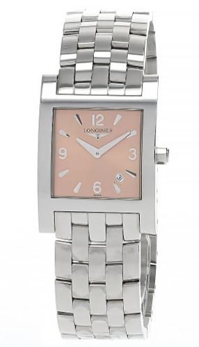 LONGINES Quartz S-Steel Pink Dial Women's L56654966 / L5.665.4.96.6