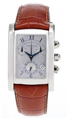 LONGINES Dolce Vita 27.8MMx33.5MM CHRONO Leather Men's Watch L56564732